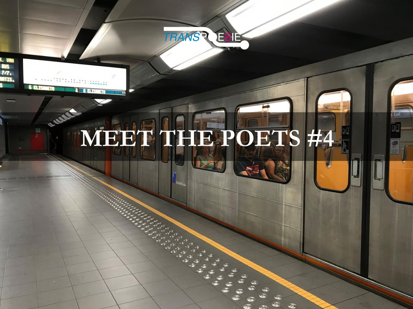 17 October 2019 | 7 PM | Le Cercle des Voyageurs - MEET THE POETS - #4